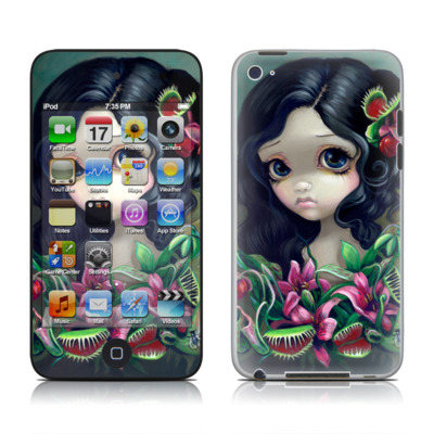 iPod Touch 4G Skin - Carnivorous Bouquet
