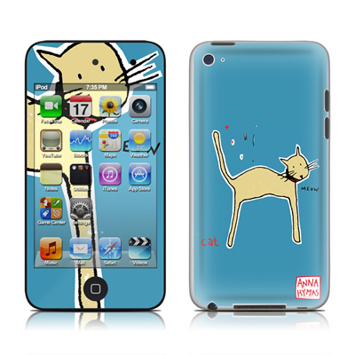 iPod Touch 4G Skin - Cat