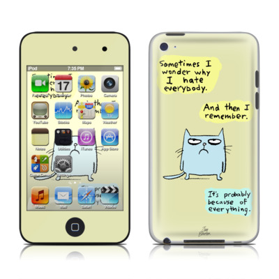 iPod Touch 4G Skin - Catwad Hate