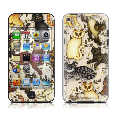 iPod Touch 4G Skin - Cats