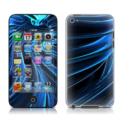 iPod Touch 4G Skin - Cerulean