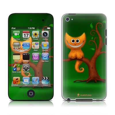 iPod Touch 4G Skin - Cheshire Kitten