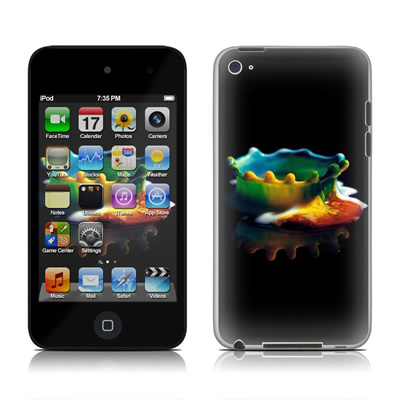 iPod Touch 4G Skin - Colored Crown