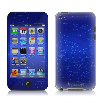 iPod Touch 4G Skin - Constellations