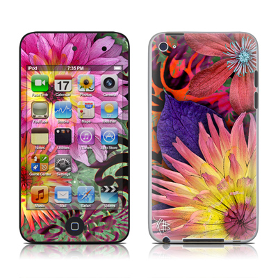 iPod Touch 4G Skin - Cosmic Damask