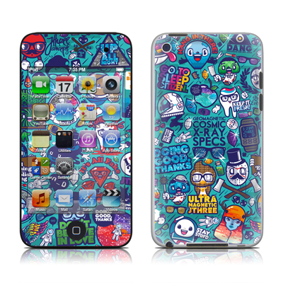 iPod Touch 4G Skin - Cosmic Ray