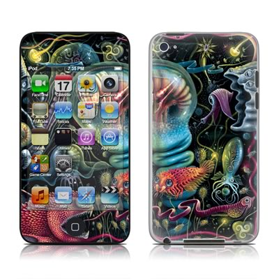 iPod Touch 4G Skin - Creatures