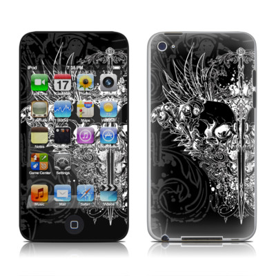 iPod Touch 4G Skin - Darkside