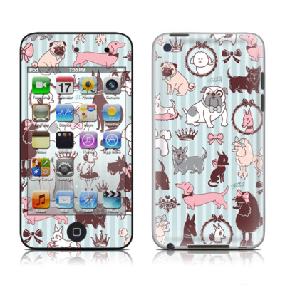 iPod Touch 4G Skin - Doggy Boudoir