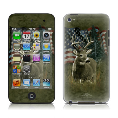 iPod Touch 4G Skin - Deer Flag