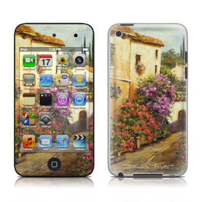 iPod Touch 4G Skin - Via Del Fiori