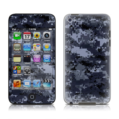 iPod Touch 4G Skin - Digital Navy Camo