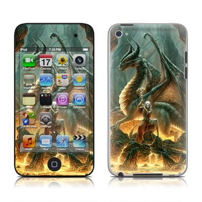 iPod Touch 4G Skin - Dragon Mage