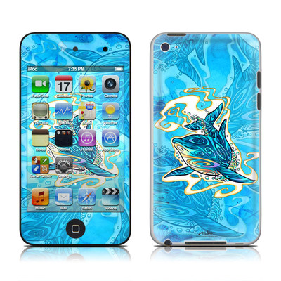 iPod Touch 4G Skin - Dolphin Daydream