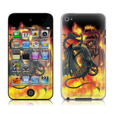 iPod Touch 4G Skin - Dragon Wars