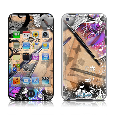 iPod Touch 4G Skin - Dream Flowers