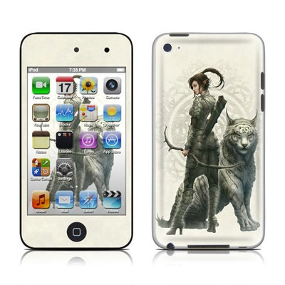 iPod Touch 4G Skin - Half Elf Girl