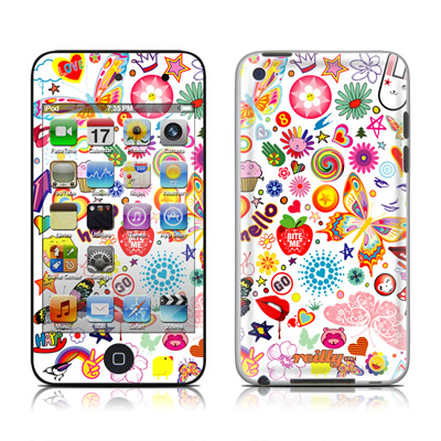 iPod Touch 4G Skin - Eye Candy
