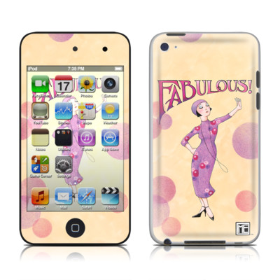 iPod Touch 4G Skin - Fabulous