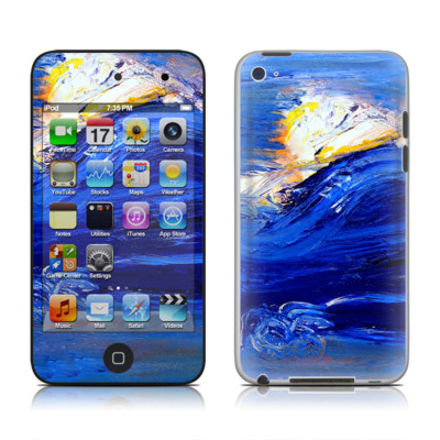 iPod Touch 4G Skin - Feeling Blue