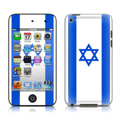 iPod Touch 4G Skin - Israel Flag