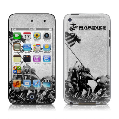 iPod Touch 4G Skin - Flag Raise
