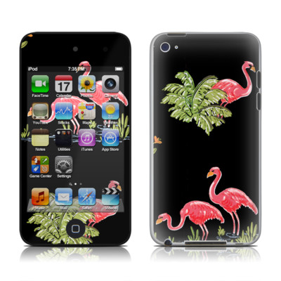 iPod Touch 4G Skin - Flamingos