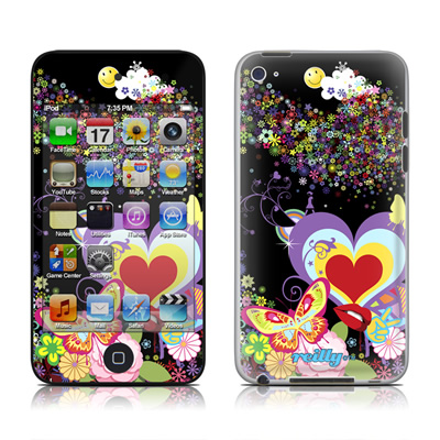 iPod Touch 4G Skin - Flower Cloud
