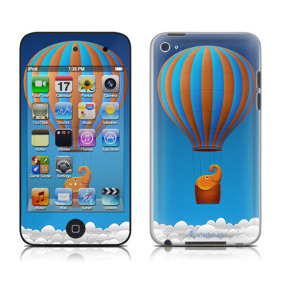 iPod Touch 4G Skin - Flying Elephant