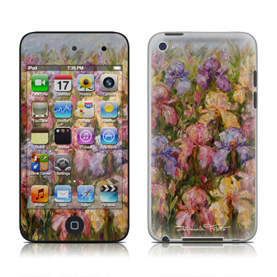 iPod Touch 4G Skin - Field Of Irises