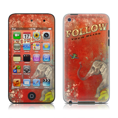iPod Touch 4G Skin - Follow Your Bliss