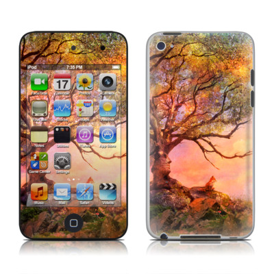 iPod Touch 4G Skin - Fox Sunset