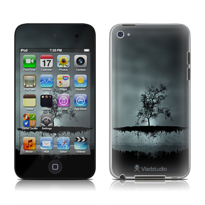 iPod Touch 4G Skin - Flying Tree Black