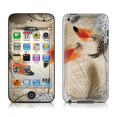 iPod Touch 4G Skin - Feather Dance