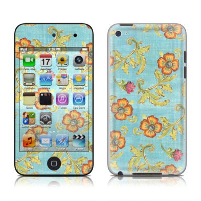 iPod Touch 4G Skin - Garden Jewel