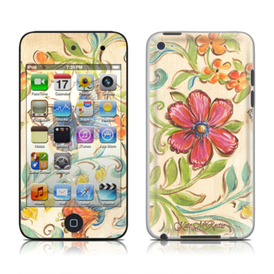 iPod Touch 4G Skin - Garden Scroll