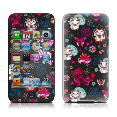 iPod Touch 4G Skin - Geisha Kitty