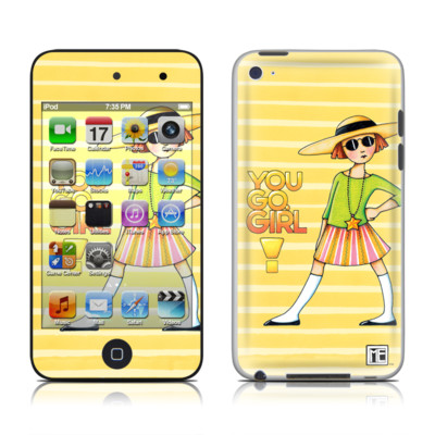 iPod Touch 4G Skin - You Go Girl
