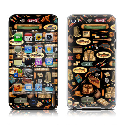 iPod Touch 4G Skin - Gone Fishing
