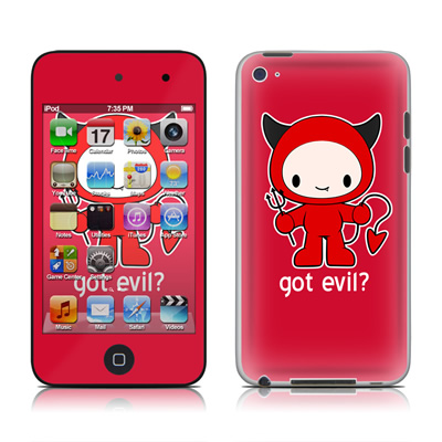 iPod Touch 4G Skin - Got Evil