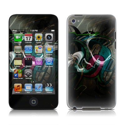 iPod Touch 4G Skin - Graffstract