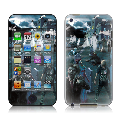 iPod Touch 4G Skin - Graveyard