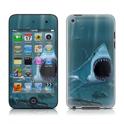 iPod Touch 4G Skin - Great White