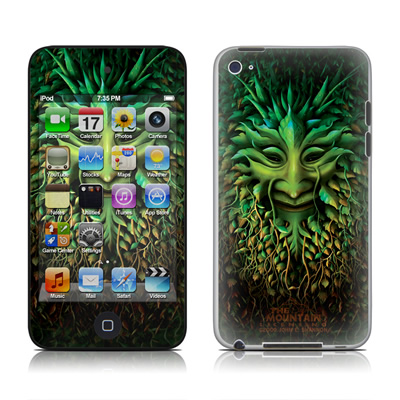 iPod Touch 4G Skin - Greenman