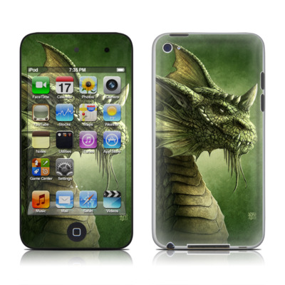 iPod Touch 4G Skin - Green Dragon