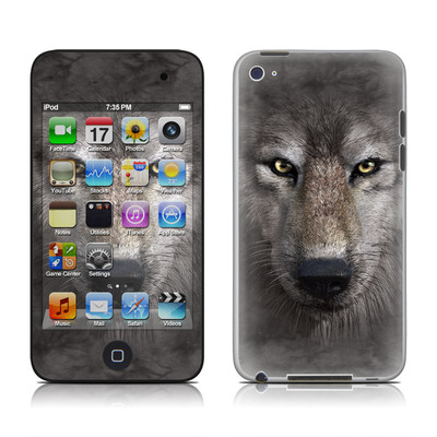 iPod Touch 4G Skin - Grey Wolf