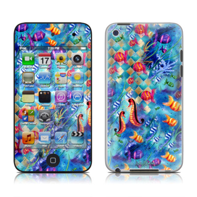 iPod Touch 4G Skin - Harlequin Seascape