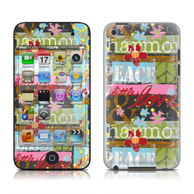 iPod Touch 4G Skin - Harmony and Love