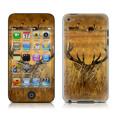 iPod Touch 4G Skin - Hiding Buck