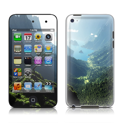 iPod Touch 4G Skin - Highland Spring
